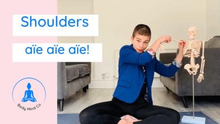 10- Douleurs aux épaules… Aïe aïe aïe ! Yoga depuis votre fauteuil