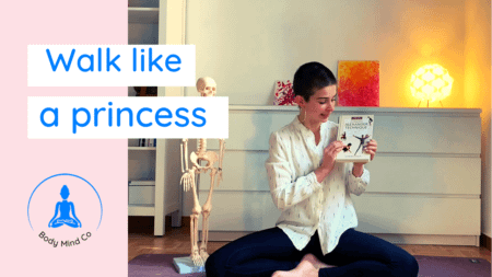 7- Vous voulez marcher comme une princesse ?
