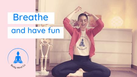 3- Libérez votre respiration avec cet exercice super fun !