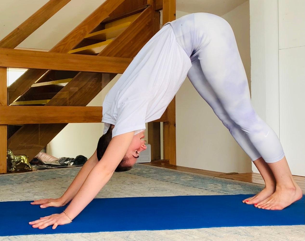 yoga memory fog menopause