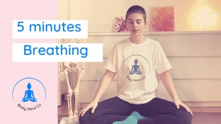 1- Exercice de respiration facile pour libérer vos tensions en 5 minutes