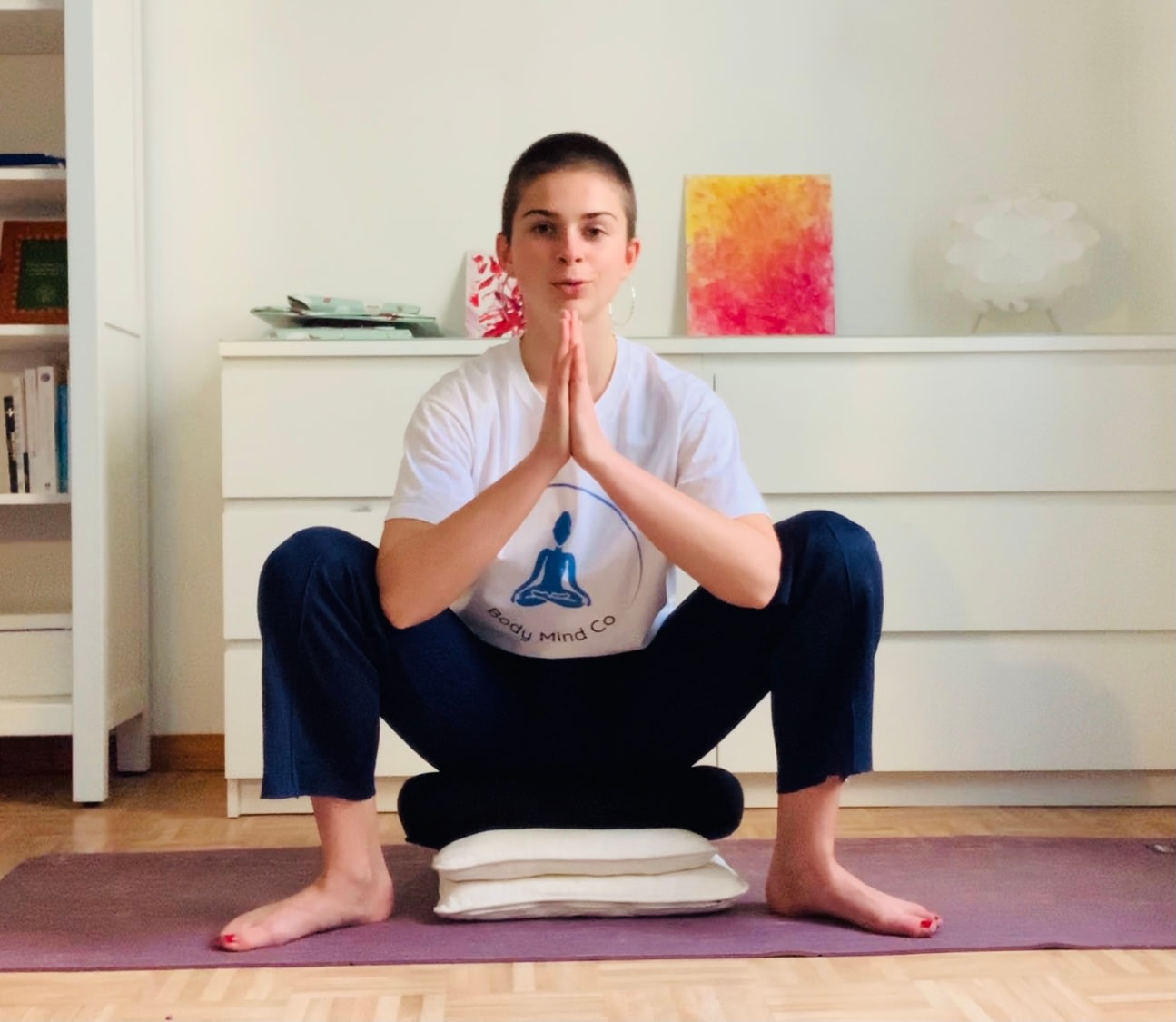 Gentle private yoga