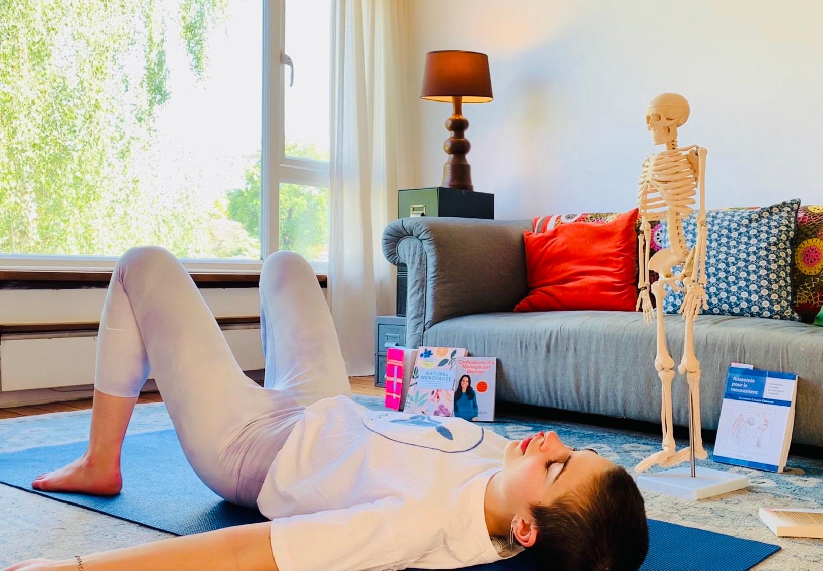 feeling moody menopause yoga