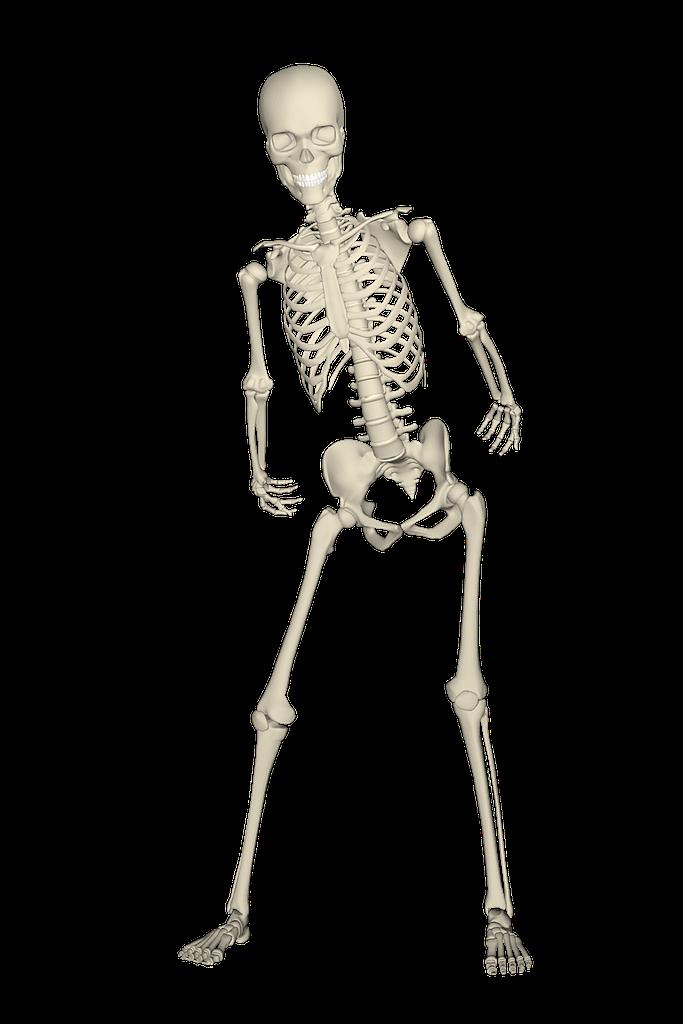 skeleton walk like a princess